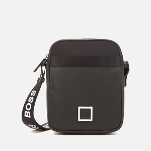 BOSS Men's Pixel Zip Messenger Bag - Black