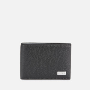 BOSS Men's Crosstown Leather Wallet - Black