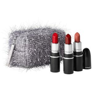 MAC Fireworked Like a Charm Mini Lipstick Kit - Red
