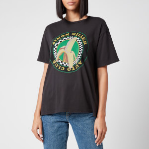 Simon Miller Women's Nana Graphic Loose T-Shirt - Vintage Black