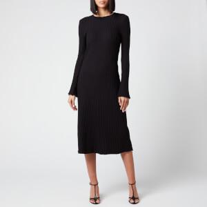 Simon Miller Women's Wells Long Sleeve Dress - Black