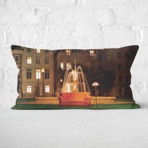 Friends Fountain Rectangular Cushion