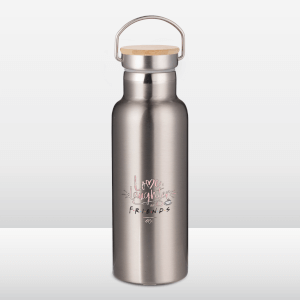 Friends Love, Laughter & Friends Portable Insulated Water Bottle - Steel