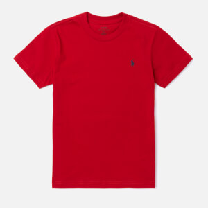 Polo Ralph Lauren Boys' Crew Neck T-Shirt - Red