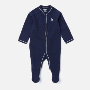 Polo Ralph Lauren Boys' Logo Sleep Suit - Navy
