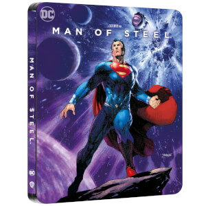Man of Steel - Zavvi Exclusive 4K Ultra HD Steelbook (Includes 2D Blu-ray)