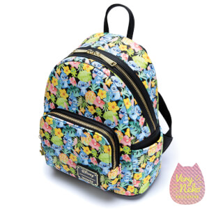 Loungefly Disney Lilo and Stitch Floral Stitch Mini Backpack - VeryNeko Exclusive