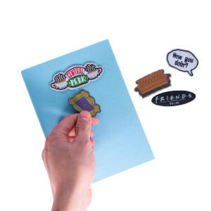 Friends Central Perk Patch Notebook