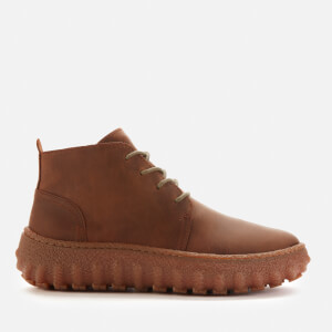 Camper Men's Lace Up Ankle Boots - Medium Brown