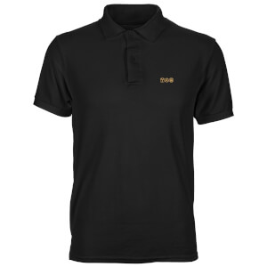 Back To The Future Icons Unisex Polo - Black