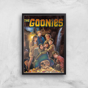 The Goonies Classic Cover Giclee Art Print