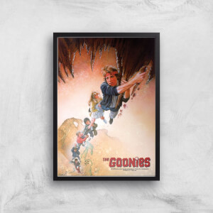 The Goonies Retro Poster Giclee Art Print