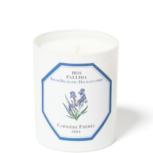 Carrière Frères Scented Candle Iris - Iris Pallida - 185 g