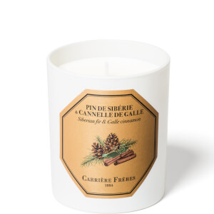 Carrière Frères Scented Candle Siberian fir & Galle Cinnamon - 185 g