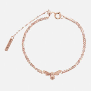 Olivia Burton Women's Lucky Bee Chain Bracelet - Rose Gold