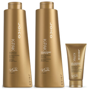 Joico K-Pak Shampoo, Conditioner and Hydrator Supersize Set
