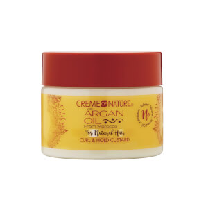 Crème of Nature Argan Oil Curl & Hold Custard Jelly 313ml