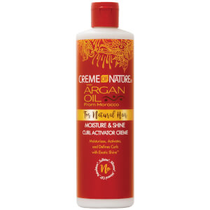 Crème of Nature Argan Oil Moisture and Shine Curl Activator Créme 354ml