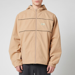 Drôle de Monsieur Men's Zipped Slogan Jacket - Beige