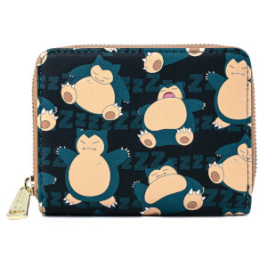 Loungefly Pokemon Snorlax Zip Around Wallet
