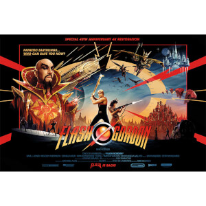 "Flash Gordon ""Gold Foil"" Limited Edition Lithograph by Matt Ferguson"