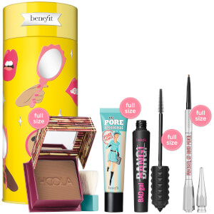 benefit Cheers, My Dears! Bronzer, Brow, Mascara and Primer Gift Set (Worth £101.00)