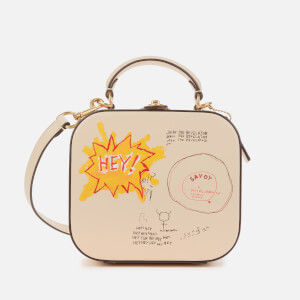 Coach 1941 Women's Coach X Basquiat Bat City Blocks Square Bag - Ivory
