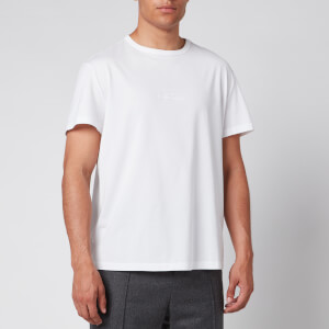 Maison Margiela Men's Mirrored Logo T-Shirt - White