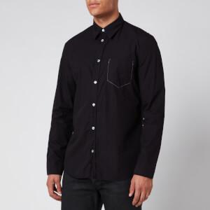 Maison Margiela Men's Garment Dye Shirt - Black