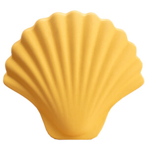 Los Objetos Decorativos Seashell Vase - Honey