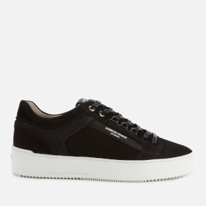 Android Homme Men's Venice Nubuck Low Top Trainers - Black