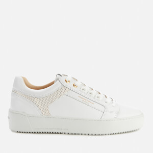 Android Homme Men's Venice Metallic Trainers - White/Gold