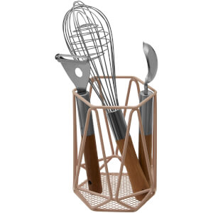 Vertex Utensil Holder - Pink
