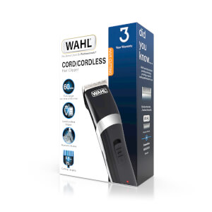 Wahl Clipper Kit Cord/Cordless Black