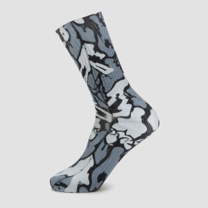 Chaussettes de tennis Adapt MP x Hexxee–Imprimé camouflage gris
