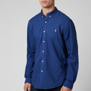 Polo Ralph Lauren Men's Oxford Sport Shirt - Annapolis Blue