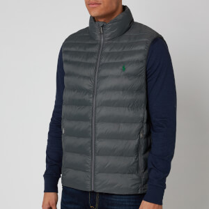 Polo Ralph Lauren Men's Recycled Nylon Terra Vest - Charcoal Grey