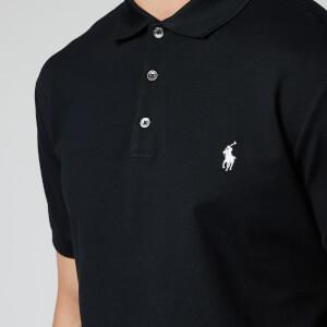 Polo Ralph Lauren Men's Slim Fit Stretch Mesh Polo Shirt - Polo Black
