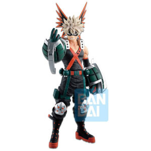 Banpresto Ichibansho Figure Katsuki Bakugo(Fighting Heroes Feat. One's Justice) Figure