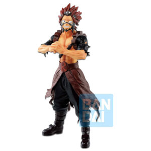 Banpresto Ichibansho Figure Eijiro Kirishima(Fighting Heroes Feat. One's Justice) Figure