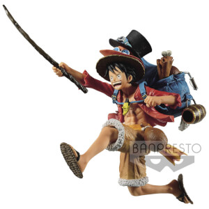 Statuetta One Piece Three Brothers (A:Monkey.D.Luffy)  - Banpresto