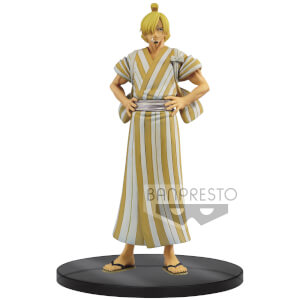 Statuetta One Piece DXF The Grandline Men Wanokuni Vol.5 Trafalgar Law - Banpresto