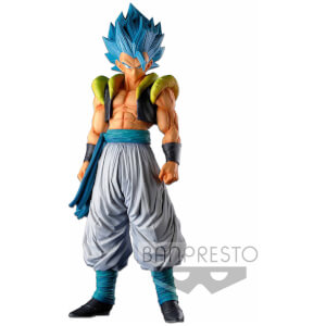 Banpresto Dragon Ball Super Super Master Stars Piece The Gogeta The Brush Super Saiyan Blue Figure