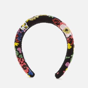 Shrimps Women's William Headband - Black Multi