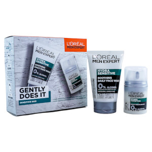 L'Oreal Men Expert Gently Does it Sensitive Skin Duo Gift Set for Him