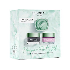 L'Oreal Paris Pamper Party Kit Gift Set for Her (Worth £30.00)