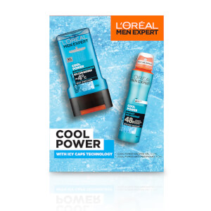 L'Oreal Men Expert Cool Power 2 Piece Gift Set for Him