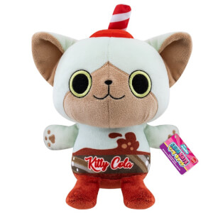 "Paka Paka Soda Kats Kitty Cola 7"" Plush"