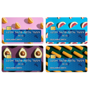 Fruit Credit Card Covers