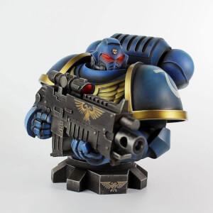 Warhammer 40K Bust Ultra Marine Primaris 16 cm